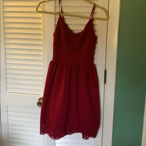 Three Pink Hearts Dress. Size:Small